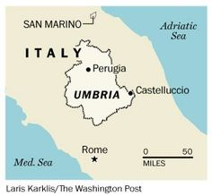 "I love this Washington Post article about Umbria, although we prefer to refer to Umbria as ""the inland Tuscany."" The last sentence makes up for the headline, though."