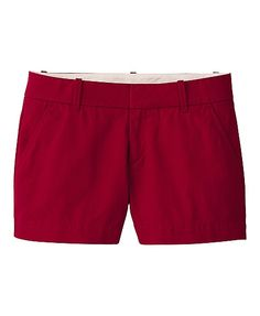 Perfect red chinos