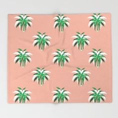 Palm pattern Throw Blanket Jungle Pattern, Outdoor Floor Cushions, Romantic Flowers, Welcome Mats, Acrylic Box, Pattern Cutting, Iphone Skins, Love Design, Wood Wall Art