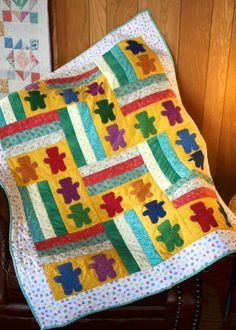 Teddy Bear Parade Baby Quilt