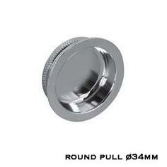 Round pull (available in 5 finish variations) #SlidingDoor #DoorHandles #PullHandle  #ModernDoor #DDP Sliding Door Handles, Sliding Doors, Sliding Door