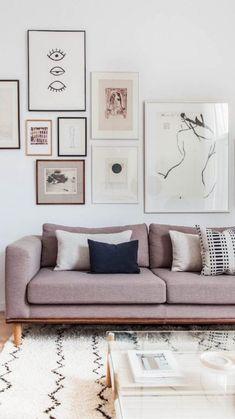 Artwork For Living Room, Cozy Living Rooms, Interior Design Living Room, Living Room Furniture, Living Room Designs, Living Room Decor, Dining Rooms, Bedroom Decor, Ikea Sofas