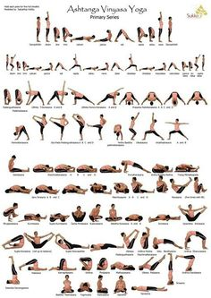 Ashtanga Vinyasa Yoga Primary Series - I've been looking for one of these forever!