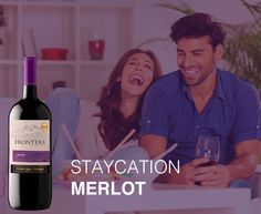 If your vacation is a staycation, opt for our smooth, cozy Merlot.