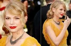 Michelle Williams side knot - Google Search