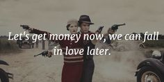 - Bonnie and Clyde Quotes for Anyone With a Ride or Die Attitude - EnkiQuotes Thug Quotes, Gangster Quotes, Wife Quotes, Badass Quotes, Couple Quotes, Qoutes, Bonnie And Clyde Quotes, Bonnie Clyde, Prison Quotes