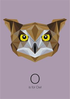 Animal Alphabet by Linn Maria , via Behance