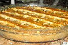 Receita de Torta de bacalhau com massa de iogurte em receitas de tortas salgadas, veja essa e outras receitas aqui!