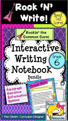 BTS (BOOST TEST SCORES) WRITING PROGRAM- an all-inclusive step-by-step writing program that has been proven to be effective with exemplary scores! You will find pages of lesson plans, creati(Step Class Common Cores) Paragraph Writing, Narrative Writing, Opinion Writing, Persuasive Writing, Writing Process, Teaching Writing, Teaching Ideas, Teaching Materials, Interactive Writing Notebook