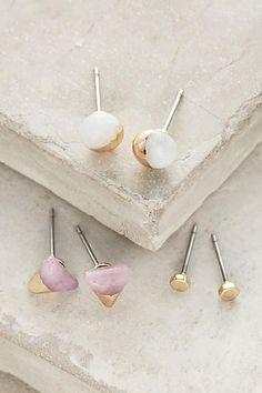 Futurist Earring Set - anthropologie.com