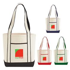 Promotional Top Sail Cotton Boat Tote Bag #7900-06 | Customized Tote Bags | Logo Tote Bags