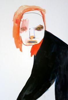 """Frozen With Yellow Eyes""  Maja Ruznic 2012"