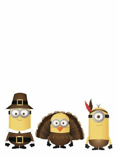Happy thanksgiving from your local Minions 😂