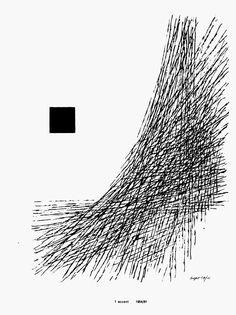 Herbert Bayer, (from) Book of Drawings, Paul Theobald, Chicago, 1961 Ivan Chermayeff, Ikko Tanaka, Neville Brody, Otl Aicher, Herbert Bayer, Massimo Vignelli, Milton Glaser, Saul Bass, Math Art