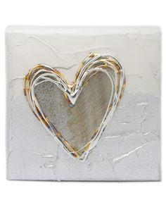 Mushroom Artbloxx 01b Silver Wall Art, Small Canvas, Art Uk, Mushroom, Heart Ring, Contemporary Art, Hearts, Children, Rings