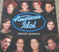 American Idol / Season One / 2002 RCA Records Double-Sided Promo Poster #KellyClarkson #JustinGuarinni #Poster