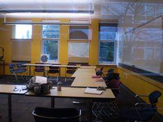 クラスルームの様子。平均約14名、最大約16名での学習となります。ELIの詳しい情報はこちらから☆http://www.vc-ryugaku.com/school/lang/s32.html