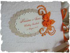 Il Blog di Artefem: Guestbook in arancio