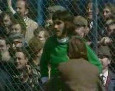Northern Ireland's George Best's Disallowed Goal v England's Gordon Banks @ Windsor Park 15 May 1971 Northern Irish, Northern Ireland, Gordon Banks, Windsor Park, European Cup, Soccer Stars, Football Team, Manchester United, Besties