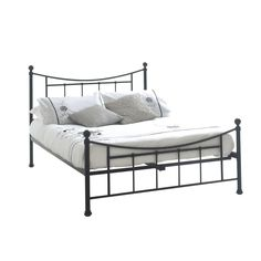 The Bristol features a conservative look with a Victorian-inspired finish. Understated yet elegant, the Bristol metal bed frame is the perfect choice for a traditional bedroom. Choose from a single and double frame to suit your room space. Black Double Bed Frame, Black Metal Bed Frame, Leather Bed Frame, Double Beds, Cream Bedrooms, Traditional Bedroom, Metal Beds, Victorian Fashion, Master Bedroom
