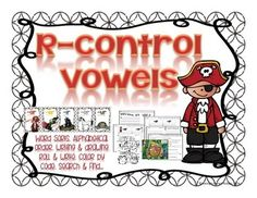 R-controlled vowels are a difficult concept to understand when our kiddos are just starting to read and write. You can help them understand and HEAR the differences between the 5 different spellings using the R-controlled vowels with the assistance of this practice and application unit.   R Controlled -ar, -er, ir, ur