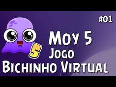 Moy 5  🐙 Jogo Bichinho Virtual - Novo Click Jogos - GamePlay