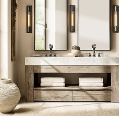 20 Rustic Bathroom Vanity Ideas that are Simply Unforgettable - Site Home Design Bathroom Layout, Modern Bathroom Design, Bathroom Sets, Bathroom Interior Design, Master Bathrooms, Small Bathrooms, Bathroom Mirrors, Minimal Bathroom, Marble Bathrooms