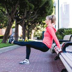 12 Free Outdoor Workouts That Don't Suck via Brit + Co