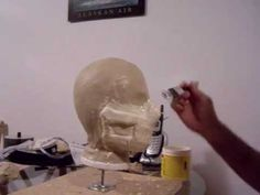 How to make a custom airsoft mask - YouTube
