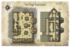 rpg map of the week | RPG Resource of the Day: 25 Inn and Tavern Maps