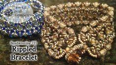 Beadweaving 721 - Rippled Bracelet