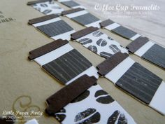 Mini Coffee Cup Tips & Tricks – littlepaperparty Coffee Cafe, Hot Coffee, Karen Robinson, Mini Coffee Cups, Party Hacks, Coffee Drinkers, Stampin Up, Tips, Coffee Ideas