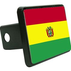 Bolivia Flag Trailer Hitch Cover