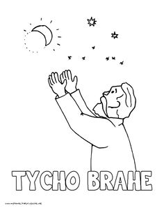 World History Coloring Pages Printables Tycho Brahe Ap World History, Mystery Of History, Tycho Brahe, Coloring Pages, Printables, Danish, Books, Fictional Characters, Drawings