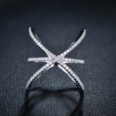 Have Micro CZ Paved X Shape Cross Ring on great price of 24.90 from Casualbugtech, you never seen that quality for such a price, Free world wide delivery..