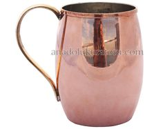 Moscow Mule Mugs, Copper Mugs, Large Moscow Mule Cup, Copper Cup, Julep 19.80 oz