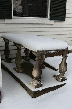 Snow at St. John's Church in Richmond, VA