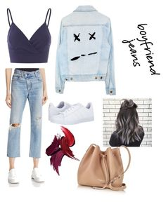 """""""Boyfriend jeans goes Sexy Casual"""" by fluffyflavi on Polyvore featuring rag & bone/JEAN, adidas and Lancaster"""