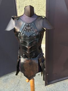 500E NIGHTINGALE LEATHER ARMOR Male Version - Complete Set Larp [Made on Order]