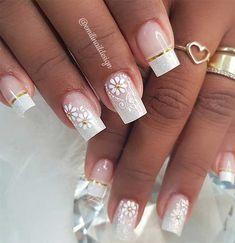 57 Gorgeous Wedding Nail Designs for Brides, bridal nails nails bride,wedding nails with glitter, nails for wedding guest Colorful Nail Designs, Beautiful Nail Designs, Nail Art Designs, Pink Glitter Nails, Cute Acrylic Nails, Blue Nail, Wow Nails, Romantic Nails, Nail Designer