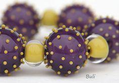 Handmade Lampwork Glass Beads #Lampwork