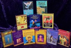 Doreen Virtue Oracle Cards,  I have several set of Doreen's oracle cards I love them <3