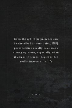 INFJ - Accurate.