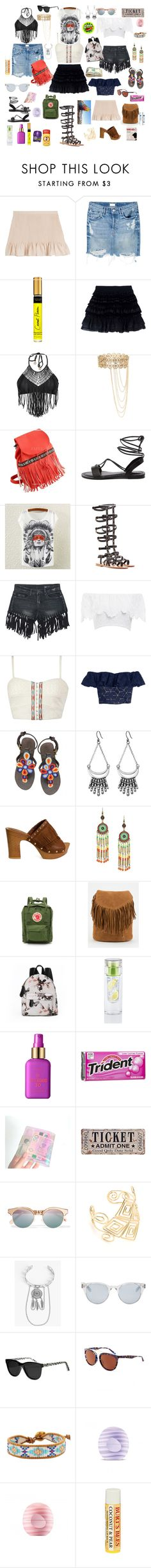 """""""Cochella 2016' we believe in being prepared"""" by denibrad ❤ liked on Polyvore featuring Vanessa Bruno Athé, Mother, Faith Connexion, Luli Fama, K. Jacques, Nightcap, Gimmicks, Rebecca Taylor, Lucky Brand and Robert Rose"""