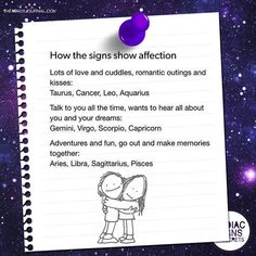 How The Signs Show Affection themindsjournal. Zodiac Signs Sagittarius, Zodiac Sign Traits, Zodiac Signs Astrology, Zodiac Horoscope, My Zodiac Sign, Zodiac Symbols, Horoscope Signs, Horoscope Funny, Zodiac Quotes