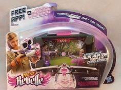 NERF Rebelle Mission Central App Rail Mount Girls Smartphone Accessory NEW #NERF