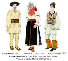 Image result for romanian traditional costume 1920