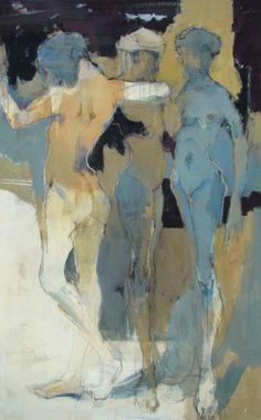 lilithsplace:'Dance' - Eberhard Hueckstaedt (b. 1936)