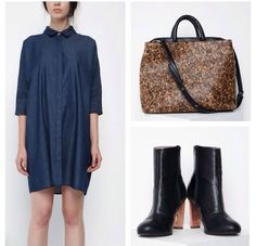 Fave vegan picks from our latest Eco-fab online shopping obsession, The Acey! Beaumont Organic dress/Matt and Nat cork bag/Sydney Brown Vegan Boots