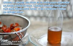 sirop naturel contre la toux Jus Detox, Nutrition, Healthy Drinks, Beverages, Tableware, Food, Simple, Smoothie, Science
